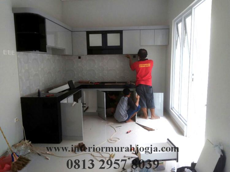 Harga Kitchen Set Per Meter Murah Di Jogja Jasa Interior Jogja Jasa Interior Murah Jogja Artistic Interior Furnitur Design