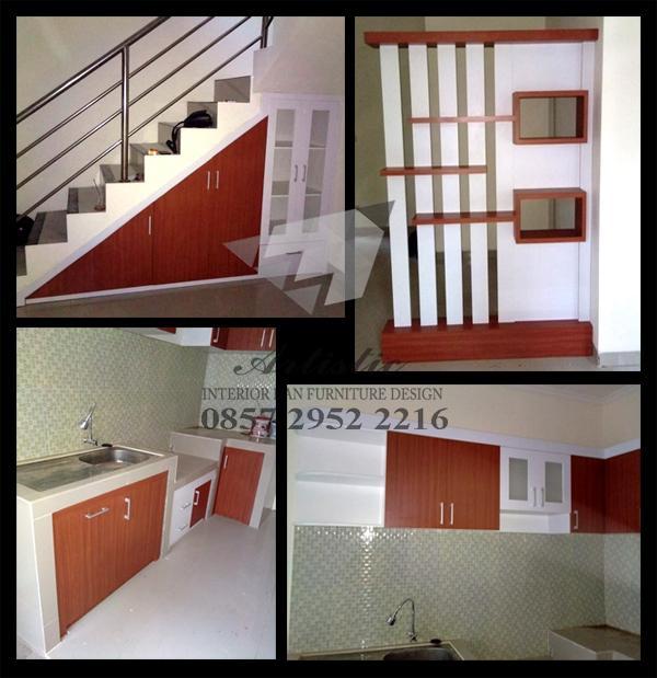 Harga Jasa Desain Interior Cafe: Hasil Produksi Interior Mebel Design Kitchen Set, Partisi