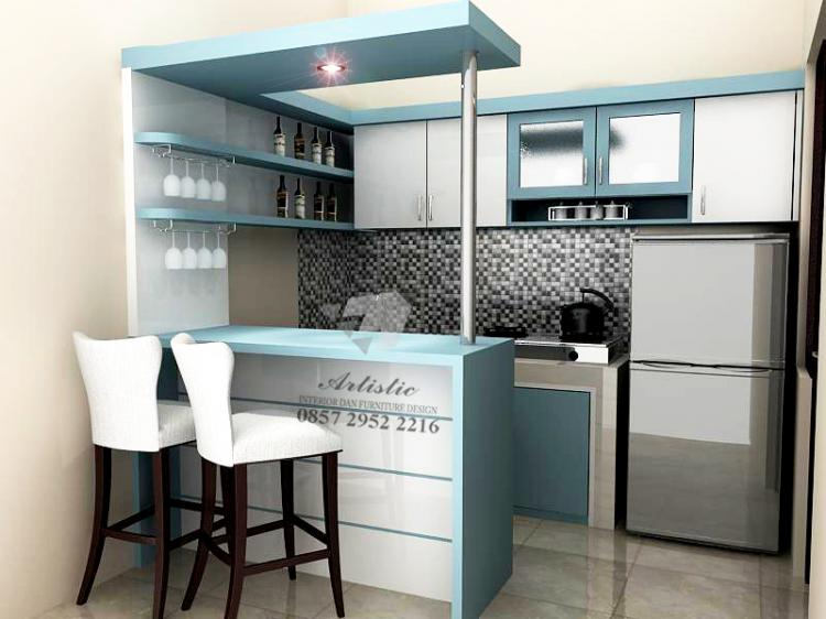 Ide Desain Kitchen Set Meja Dapur Minimalis Modern di