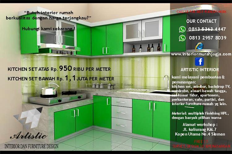 Proses Produksi Pembuatan Minibar Kitchen Set Pesanan Pak Bayu Jogja
