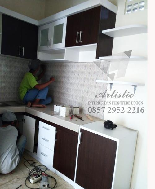 Kitchenset Pesanan Bapak Iin Sleman Yogyakarta Jasa